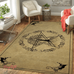 Wicca Pentacle And Tree of Life W033 Area Rug