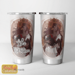 Personalized name Wicca Litha Mid Summer Shining Tumbler 20oz