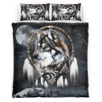 Native American Wolf 346 Bedding Set