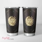 Wicca - Tarot Moon Sun Tumbler