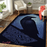 Viking Raven Area Rug