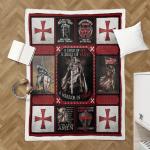 The Knights Templar Christian Warrior 115 Shepra Blanket