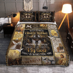 Way Maker, Miracle Worker 213 Quilt Bed Set