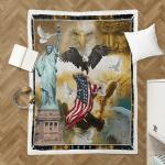 God Bless America 393 Shepra Blanket