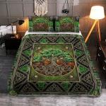Wicca CelticTree Of Life 028 Quilt Bed Set