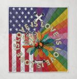 Love Is Love Pride Hippie American 409 Quilt Blanket