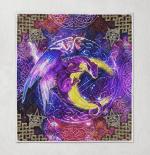 Wicca - Dragon Moon Magic 408 Quilt Blanket