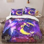 Wicca - Dragon Moon Magic 408 Bedding Set