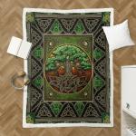 Wicca CelticTree Of Life 028 Shepra Blanket