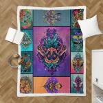 Wicca Lunar Moth 412  Shepra Blanket