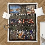 Papa. The Man, The Myth, The Legend. Deer Hunting 418 Shepra Blanket