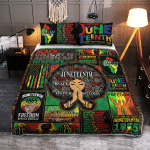 Juneteenth Freedom Day 351 Quilt Bed Set