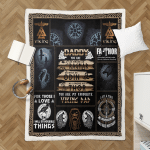 Daddy, You Are My Favoutite Viking Dad 440 Shepra Blanket