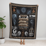 Daddy, You Are My Favoutite Viking Dad 440 Fleece Blanket