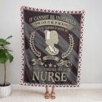 Nurse -Blood Sweat And Tears 436 Fleece Blanket