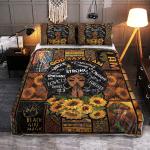 God Says I Am Black Woman 010 Quilt Bed Set