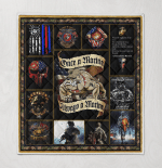 One A Marine, Always Marine 433 Quilt Blanket