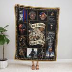One A Marine, Always Marine 433 Fleece Blanket