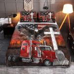 Jesus American Eagle Trucker 429 Qult Bed Set