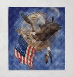 American Eagle 424 Quilt Blanket