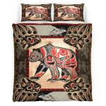 Native Bear Tattoo 421 Bedding Set