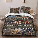 Papa. The Man, The Myth, The Legend. Deer Hunting 418 Bedding Set