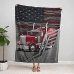 American Trucker 423 Fleece Blanket