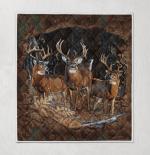 Deer Hunting 417 Quilt Blanket