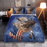 American Eagle 424 Quilt Bed Set