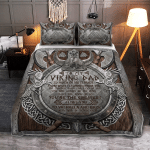 To My Viking Dad, Love You To Valhalla And Back 416 Quilt Bed Set