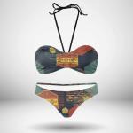 Native American Tribal Bandeau Bikini Set B002