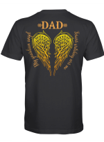 Memory - Dad. My guandian angel forever watching over me T-Shirt