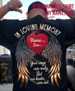 Personalized In love memory T-Shirt