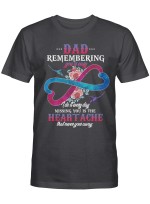 Dad-Remembering you is easy T-Shirt
