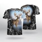 Deer Hunting T-Shirt 3D 01