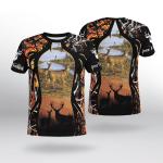 Deer Hunting T-Shirt 3D 04