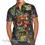 Hippie Mushroom Hawaii Shirt H015