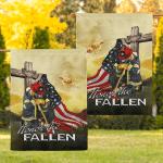 Firefighter. Honor The Fallen 27 Flag!