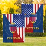United States Coast Guard Veteran 35 Flag