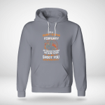Motorcycle - I'm a grumpyold man. I was born in february Hoodie
