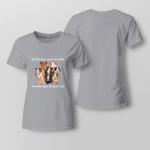 Guine pigs make me happy Ladies T-shirt
