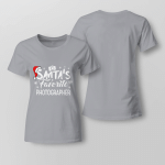 Santa's Favorite Photographer Ladies T-shirt