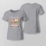 Who Really Loveds Cats And Books. It was me Ladies T-shirt