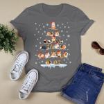 Chrismas - Guinea Pigs Tree T-Shirt