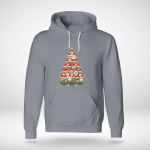 Christmas - Owl Tree Hoodie