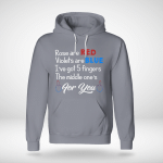 Funny - The Middle One's For You Hoodie