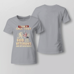 I Took A DNA Test - Veterans Are My Brothers Ladies T-shirt