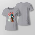 Funny - hoho Ladies T-shirt