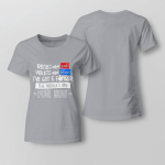 Funny - The Middle One's For You 2 Ladies T-shirt