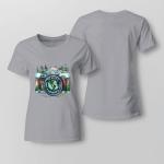 Hippie - To Myself. What A Wonderful World Ladies T-shirt